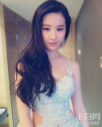 资讯生活三生三世十里桃花,刘亦菲发型图片,刘亦菲长发发型盘点